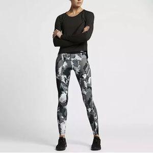 Nike Pro Hyperwarm oil glitch tight leggings
